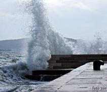 U očekivanju ciklone: Jugo jača, u Slavoniji do 27°C