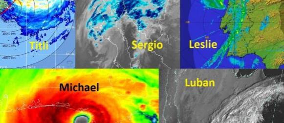 Pet tropskih udara u 5  dana