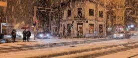 Zimski početak godine: Orkanska bura, snijeg