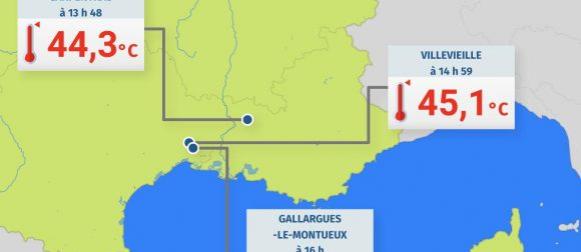 U Francuskoj izmjereno 45.9°C: Najviša temperatura u znanoj povijesti