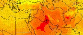 WMO: Potvrđen  novi temperaturni rekord za Aziju  54.0°C