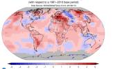 Lipanj 2019 : Najtopliji lipanj na globalnoj razini